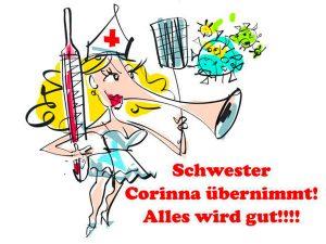 Corinna übernmmt