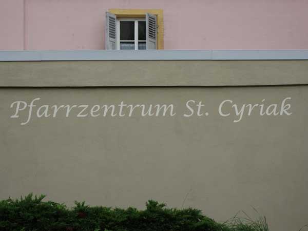 Pfarrsaal St. Cyriak Dielheim